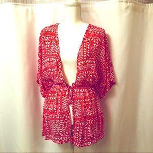 🆕Victoria's Secret Heart ❤️ Kimono/cover up NWT