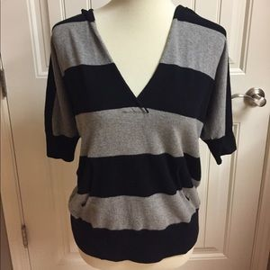 Gap part cashmere striped sweater