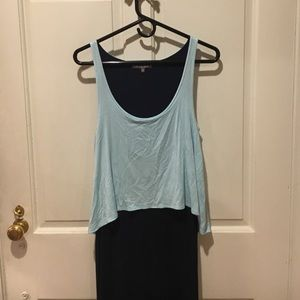 Michael Stars long colorblock dress. Size M