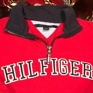 Tommy Hilfiger 4T half-zip spellout sweatshirt