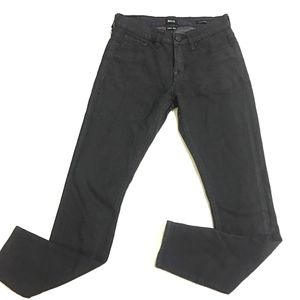 BDG Mid Rise Twig Ankle Black Wax Jeans 26x29 UO