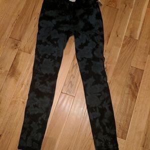 Rachel Roy printed skinny jeans