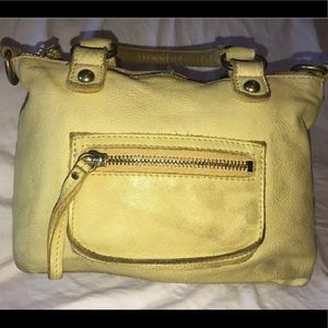 Linea Pelle Smaller Leather Handbag Purse