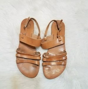 Shoes - Made In Greece Leather Sandals