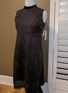 Jessica Simpson microsuede dress