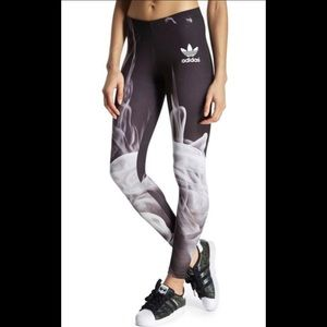 Adidas X Rita Ora smoke leggings