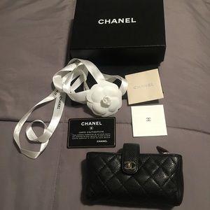 💯% CHANEL mini wallet