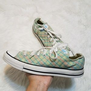 Converse All Star Plaid Sneakers