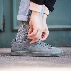 Puma Shoes - Puma Agave Green Suede Classic Tonal 5c6427dbc