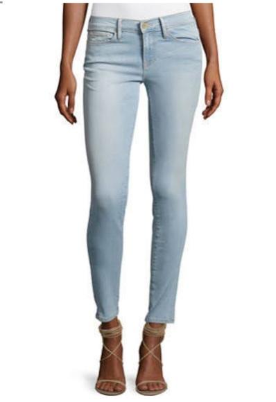 Frame Denim Jeans | Le Skinny De Jeanne Light Wash Size 31 | Poshmark