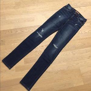 Joe's Riri High Rise Skinny Ripped jeans NWOT
