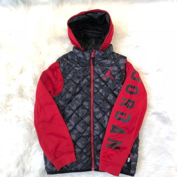 56e7f0d0d54 Jordan Jackets & Coats   Boys Youth Quilted Jacket   Poshmark
