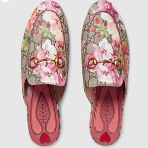 Gucci Princetown GG Blooms Slipper