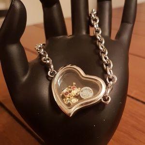 Jewelry - Mommy's angels charm heart bracelet gift pendant