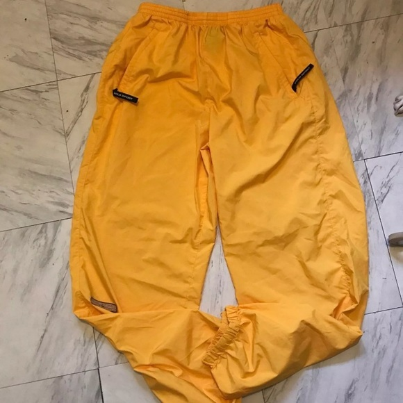 Vintage Ralph Lauren polo sport track pants. M 5a0e7b7dea3f361b1b0225a4 2864e52e36f8a