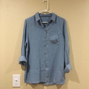 Vintage long sleeve button down top
