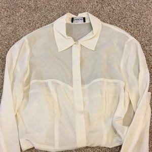 Women's bebe blouse