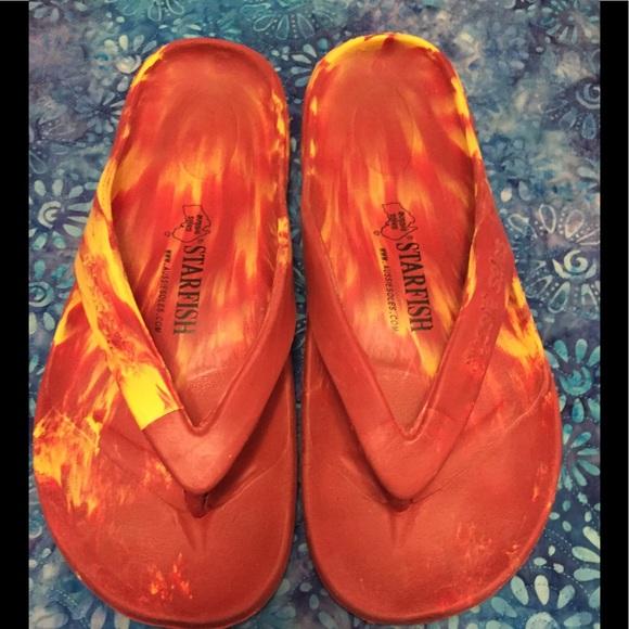 3205e9d843c3f2 Aussie Soles Shoes - STARFISH FLIP FLOPS BY AUSSIE SOLES