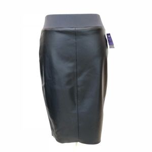 BAILEY44 Faux Leather Pencil Skirt