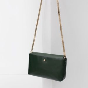 ZARA messenger bag with chain