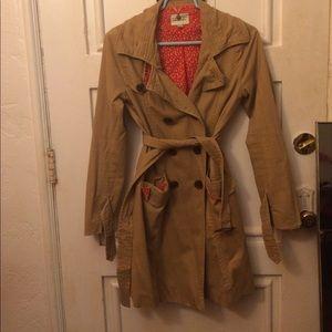 Forever 21 Khaki trench coat size medium
