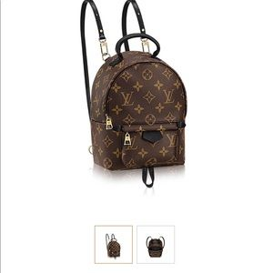 Authentic Louis Vuitton Palm Springs mini backpack