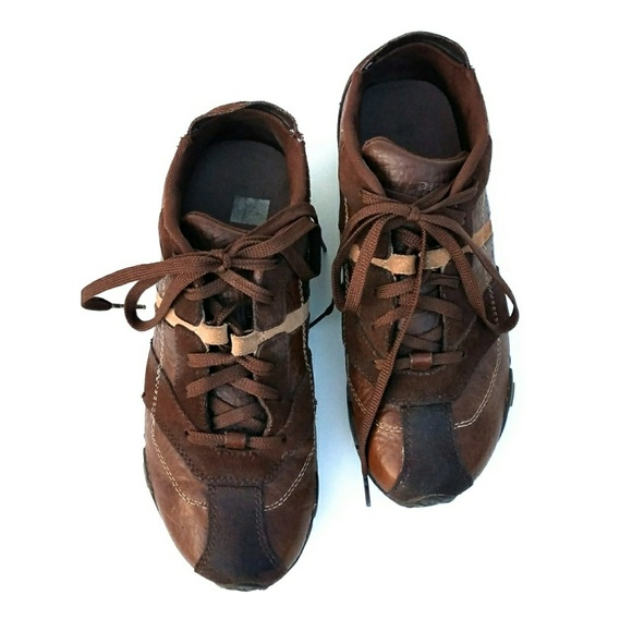 super popular 83fc8 286f6 Diesel Korbin Brown Leather Sneakers