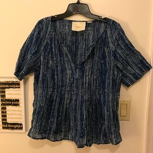Maeve top by Anthropologie,  Size 12