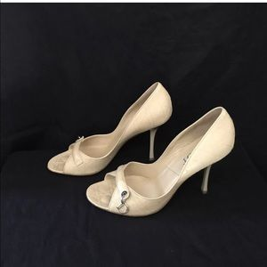 christian dior 4u201d heels size 11b
