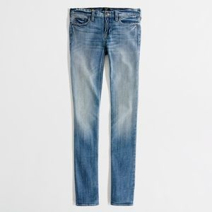 J. Crew Matchstick Petite Straight Leg Jeans