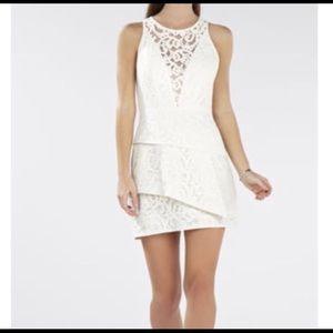 BcbgMaxAzria White Holiday Dress