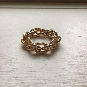 Gold Link Chunky Bracelet
