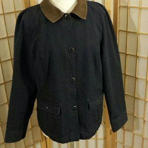 LL Bean women's jacket  sz XL reg