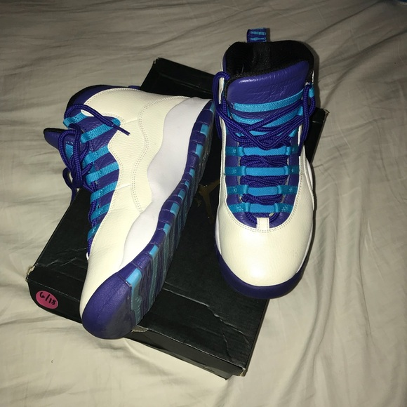bab40236ea2 Jordan Shoes | Air Retro 10 Charlotte Hornets | Poshmark