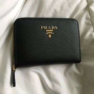 Prada purse wallet for women includes everything