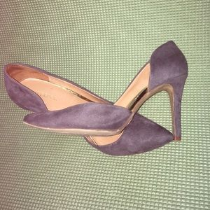 Dark Gray Heels