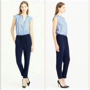 J. Crew Collection sleeveless jumpsuit