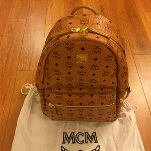 Mcm Authentic Backpack Medium