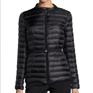 Moncler Damas Black Quilted Jacket size 0