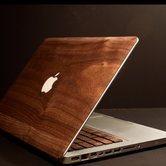the latest ee869 5a13c Walnut Real Wood MacBook Cover by ARTSN Boutique