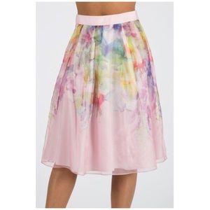 db7aaabd15461 Ted Baker London Skirts - New Ted Baker Glenis Hanging Gardens Midi Skirt