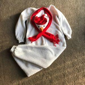 Snowman pajama