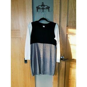 Venus Colorblock Sweater Dress
