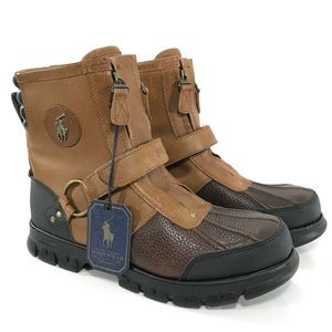 Polo Ralph Lauren Conquest Hi III leather Boots