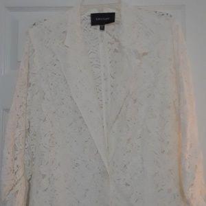 Karen Kane Blazer lace