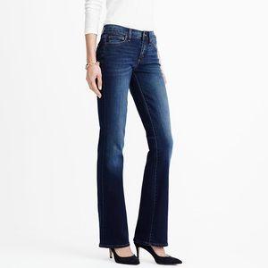 J. Crew Dark Rinse Bootcut Jeans