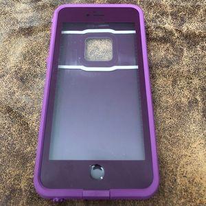 Purple iPhone 6S Plus Lifeproof Case FRE