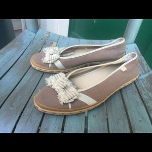 Women's Sperry Top-Sider Flats Tan & Beige 8.5M