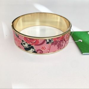 Lilly Pulitzer Alpha Omicron Pi Panda Bangle