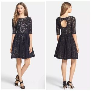 PLENTY BY TRACY REESE ESTELLA FIT AND FLARE DRESS